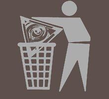 Delete The Elite - Anti New World Order Unisex T-Shirt