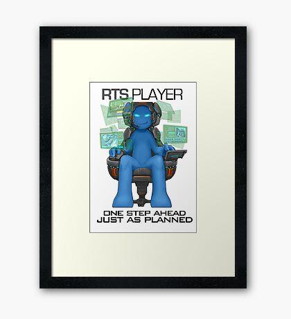 Gamer - RTS Genre Framed Print