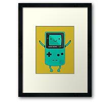 Game Beemo Color Framed Print