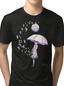 The Girl is Fading Tri-blend T-Shirt