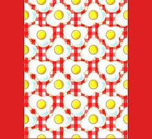 Eggs (red gingham) Unisex T-Shirt