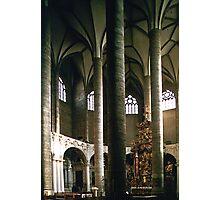 1997 Franciscan church Salzburg Photographic Print