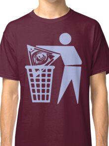 Delete The Elite - No World Order Classic T-Shirt