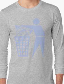 Delete The Elite - No World Order Long Sleeve T-Shirt