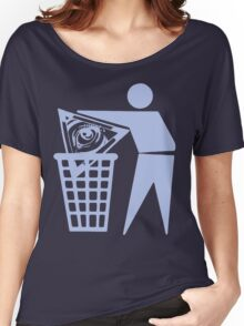 Delete The Elite - No World Order Women's Relaxed Fit T-Shirt