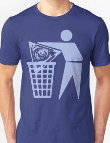 Delete The Elite - No World Order Unisex T-Shirt