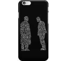 One Thing Left Unsaid iPhone Case/Skin