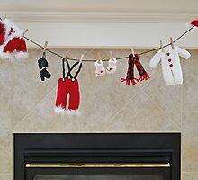 Santa's Getting Ready by Al Bourassa