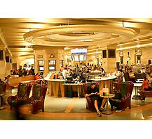 GRAND CENTRAL TERMINAL FOOD COURT Photographic Print