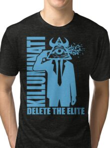 Delete The Elite Tri-blend T-Shirt