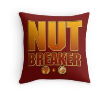 Johnny Cage Nutbreaker Throw Pillow