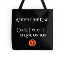Lord Of The Rings Pick-Up Line (Dark) Tote Bag