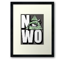 Anti NWO Framed Print