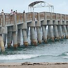 Lakeworth Pier by Danceintherain