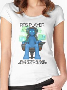 Gamer - RTS Genre Women's Fitted Scoop T-Shirt