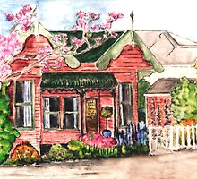 Grandma's Cottage by Anni Morris
