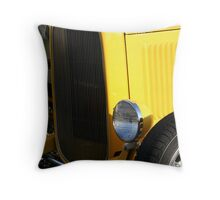 Yellow Yowza Throw Pillow