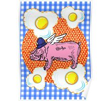 Bacon 'n' Eggs Poster