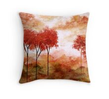 Burning Promise Throw Pillow