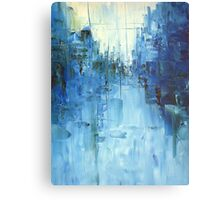 Cold #3 Abstract cityscape Metal Print