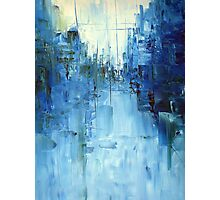 Cold #3 Abstract cityscape Photographic Print
