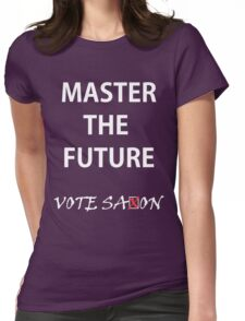 Vote saxon Master the future Womens Fitted T-Shirt
