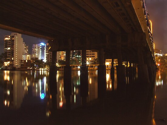 GOLD COAST UNDER THE BRIDGE by Scott  d'Almeida