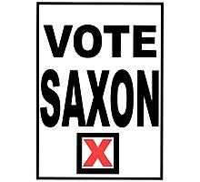 Vote Saxon Photographic Print