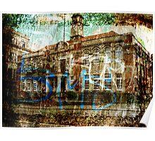 Urban disease. Poster