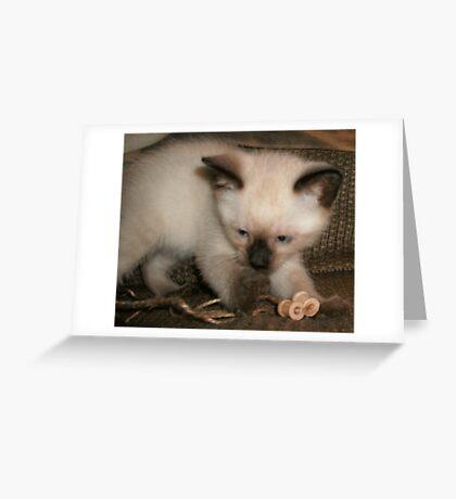 Hershey Hiss Greeting Card