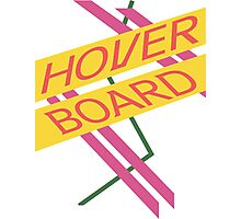 Hoverboard Design Photographic Print