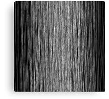 Modern Trendy Black and White Hand Drawn Line Art Canvas Print