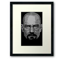 Breaking Bad - Heisenberg ( Vector ) Framed Print