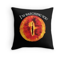 Sauron Is Watching You (Dark) Throw Pillow