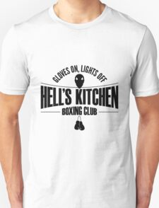 Hell's Kitchen Boxing Club - Black Unisex T-Shirt