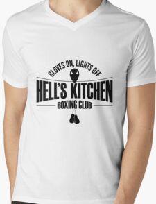 Hell's Kitchen Boxing Club - Black Mens V-Neck T-Shirt