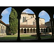 The Abbey of Saint Hilaire  Photographic Print