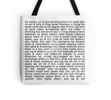 DMB- Ants Marching Tote Bag