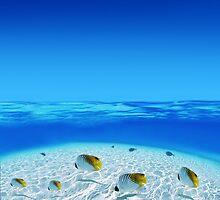 Post Card from Tahiti by Brünø Beach .
