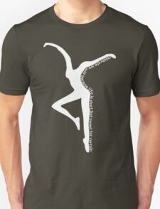 Dave Matthews Band Dancer- Two Step Lyrics with Dancer WHITE T-Shirt
