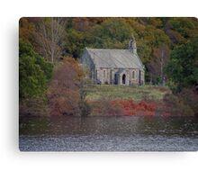The Trossachs Kirk - Loch Achray Canvas Print