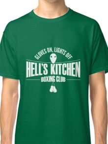 Hell's Kitchen Boxing Club - White Classic T-Shirt
