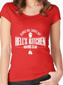 Hell's Kitchen Boxing Club - White Women's Fitted Scoop T-Shirt