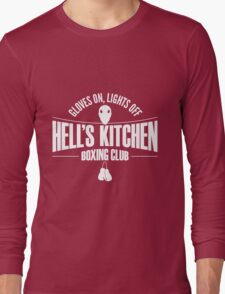 Hell's Kitchen Boxing Club - White Long Sleeve T-Shirt