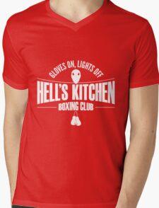 Hell's Kitchen Boxing Club - White Mens V-Neck T-Shirt