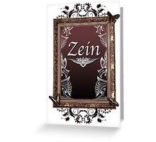 Zein2 Greeting Card