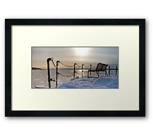 Apparently Empty, Part 2 Framed Print