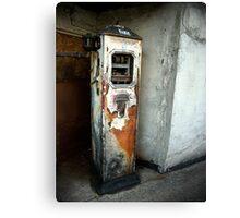 Petrol Pumps of Totterdown 2 Canvas Print
