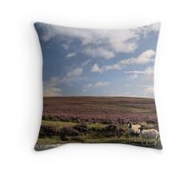 Eco disaster renewed Throw Pillow