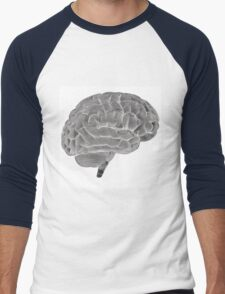 Brain Men's Baseball ¾ T-Shirt